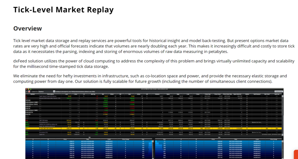 dxfeed-market-replay